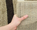 Rug Culture 330x240cm Modern Waves Rug - Beige 4