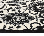 Rug Culture 230x160cm Funky Lace Rug - Black/White 3