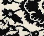 Rug Culture 230x160cm Funky Lace Rug - Black/White 4