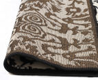 Rug Culture 230x160cm Funky Lace Rug - Black/White 5