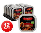 12 x Purina Supercoat Classic Loaf Beef for Adult Dogs 100g 1