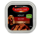 12 x Purina Supercoat Classic Loaf Beef for Adult Dogs 100g 2