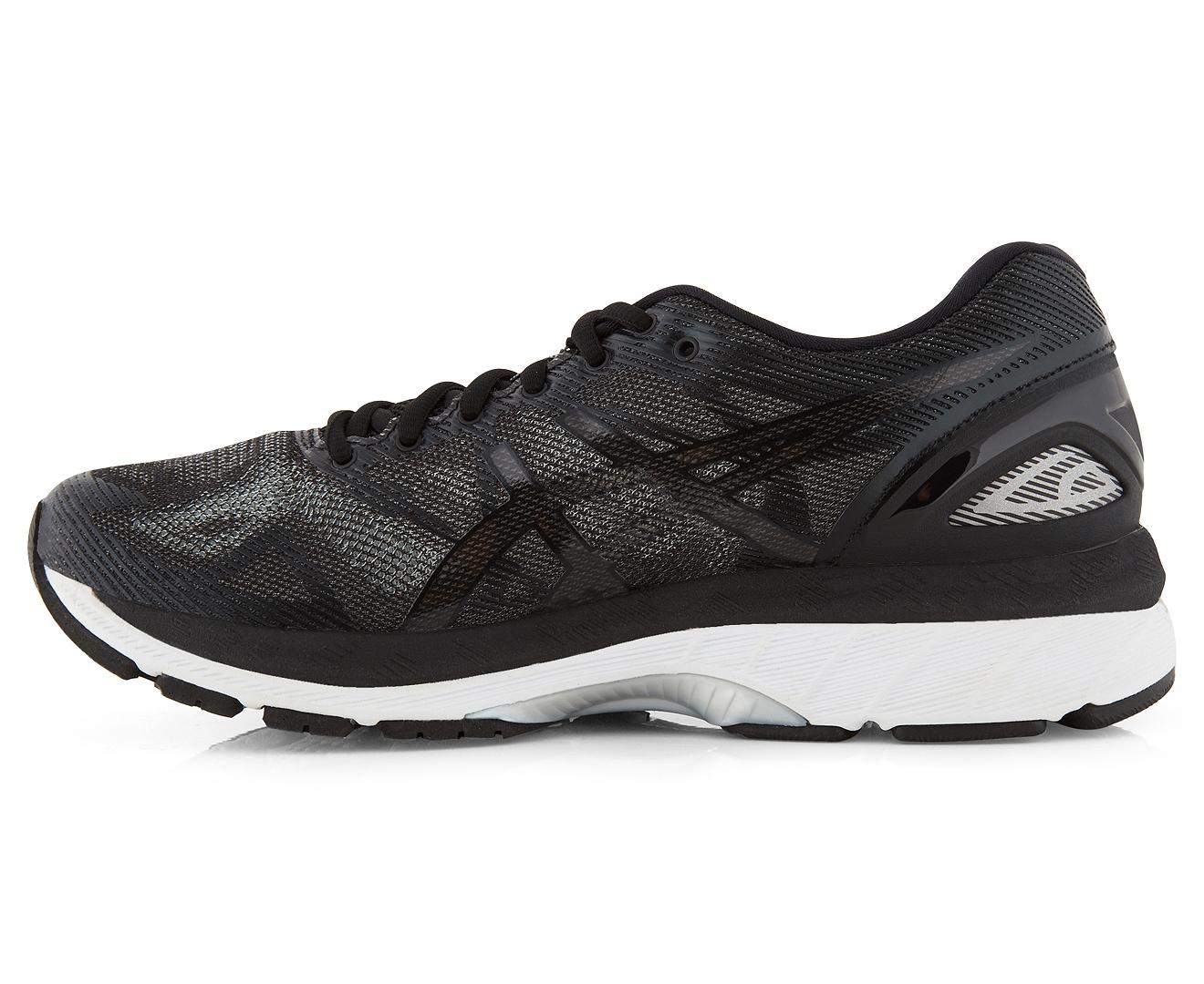 quality design 7b00e b2ea6 ASICS Women's GEL-Nimbus 19 Shoe - Black/Onyx/Silver
