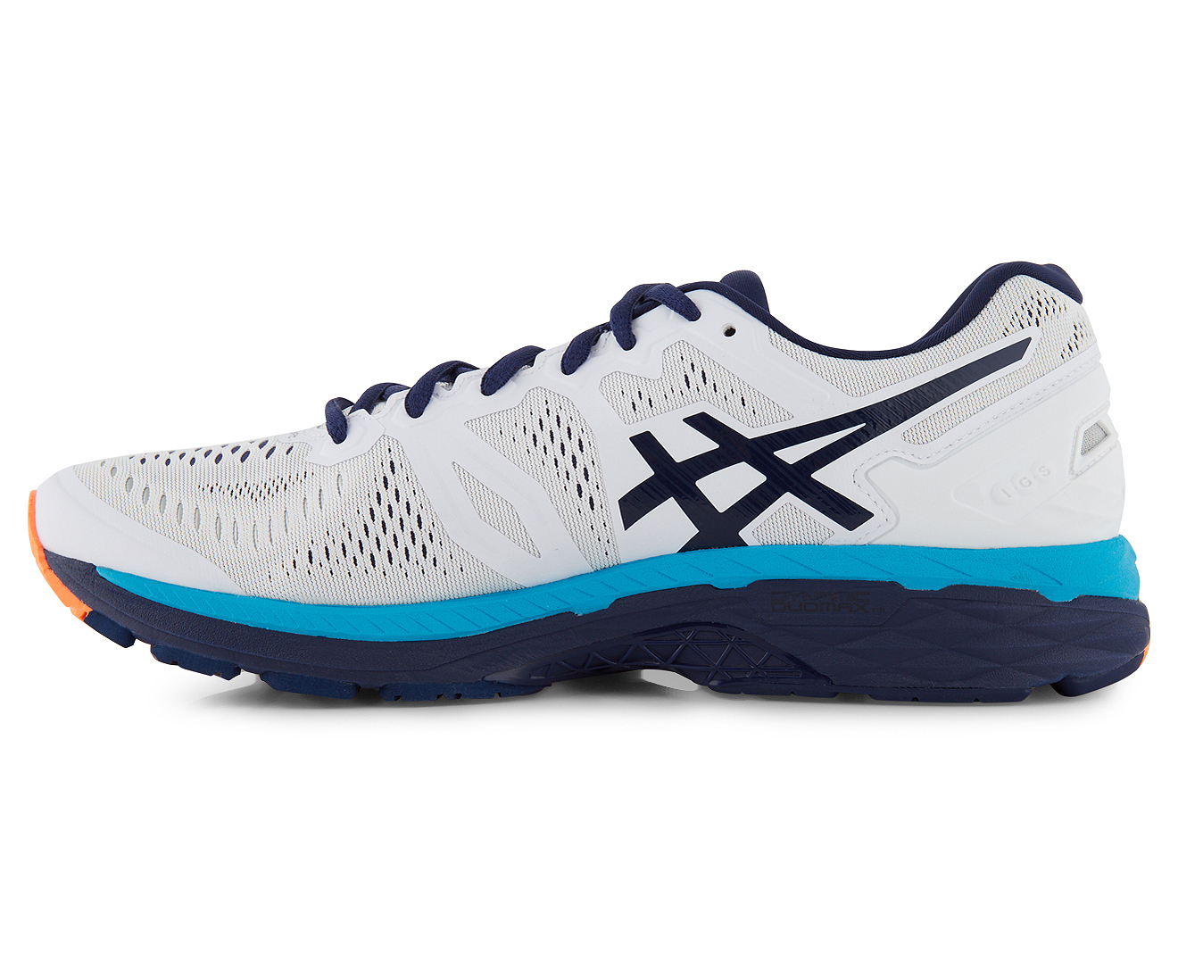 Sneakers T646N-0149 Asics Men/'s Gel Kayano23 White-Indigo Blue Running Shoes