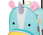Skip Hop Kids' Zoo Rolling Luggage - Unicorn 3