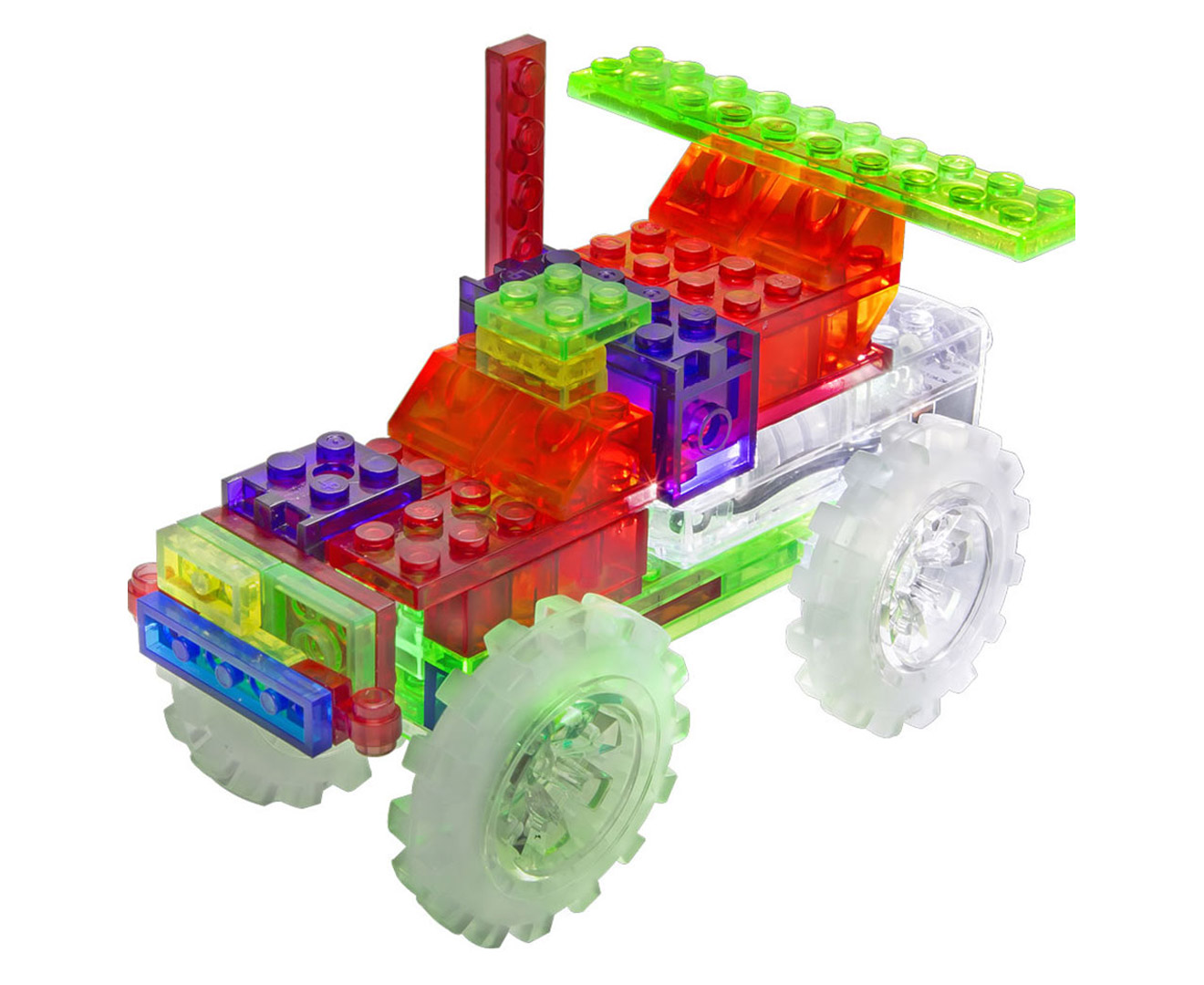laser pegs monster truck instructions
