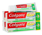 4 x Colgate Total Pro Clean Breath Toothpaste 100g 1