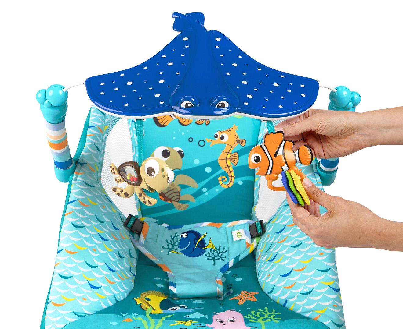 Disney Baby Finding Nemo Sea Amp Swim Bouncer Multi