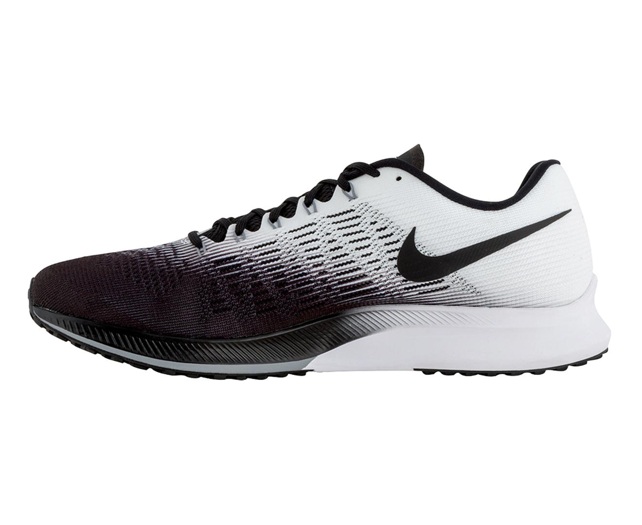 Nike Men's Air Zoom Elite 9 Shoe BlackWhite Stealth