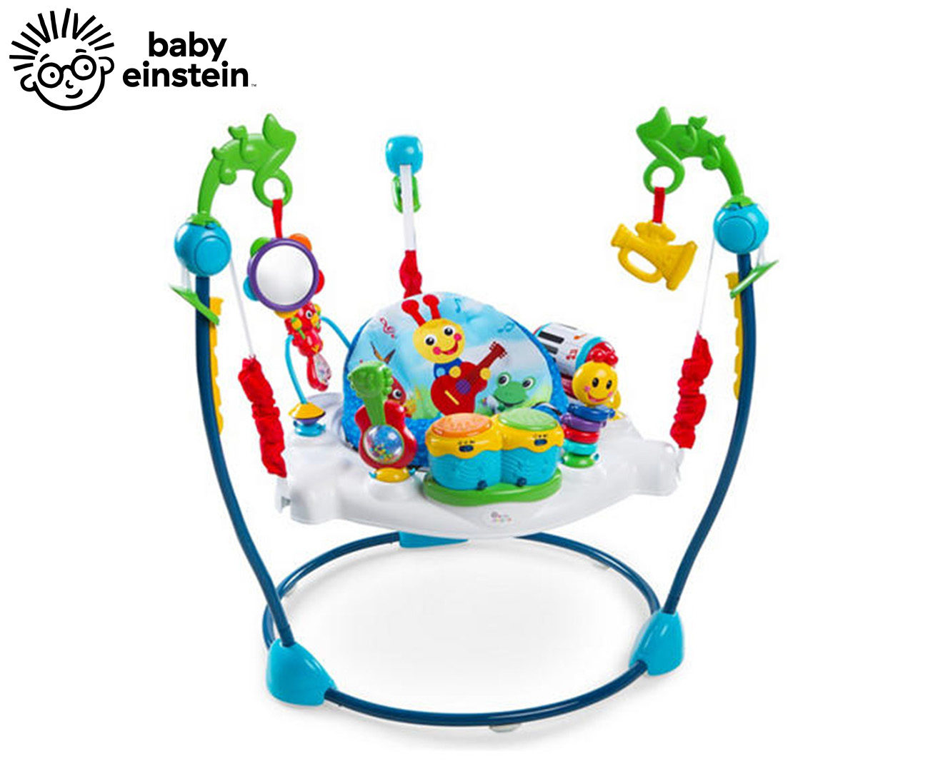 2ce8ec327c4e Baby Einstein Bouncer Neighborhood Symphony Activity Jumper Bouncer ...