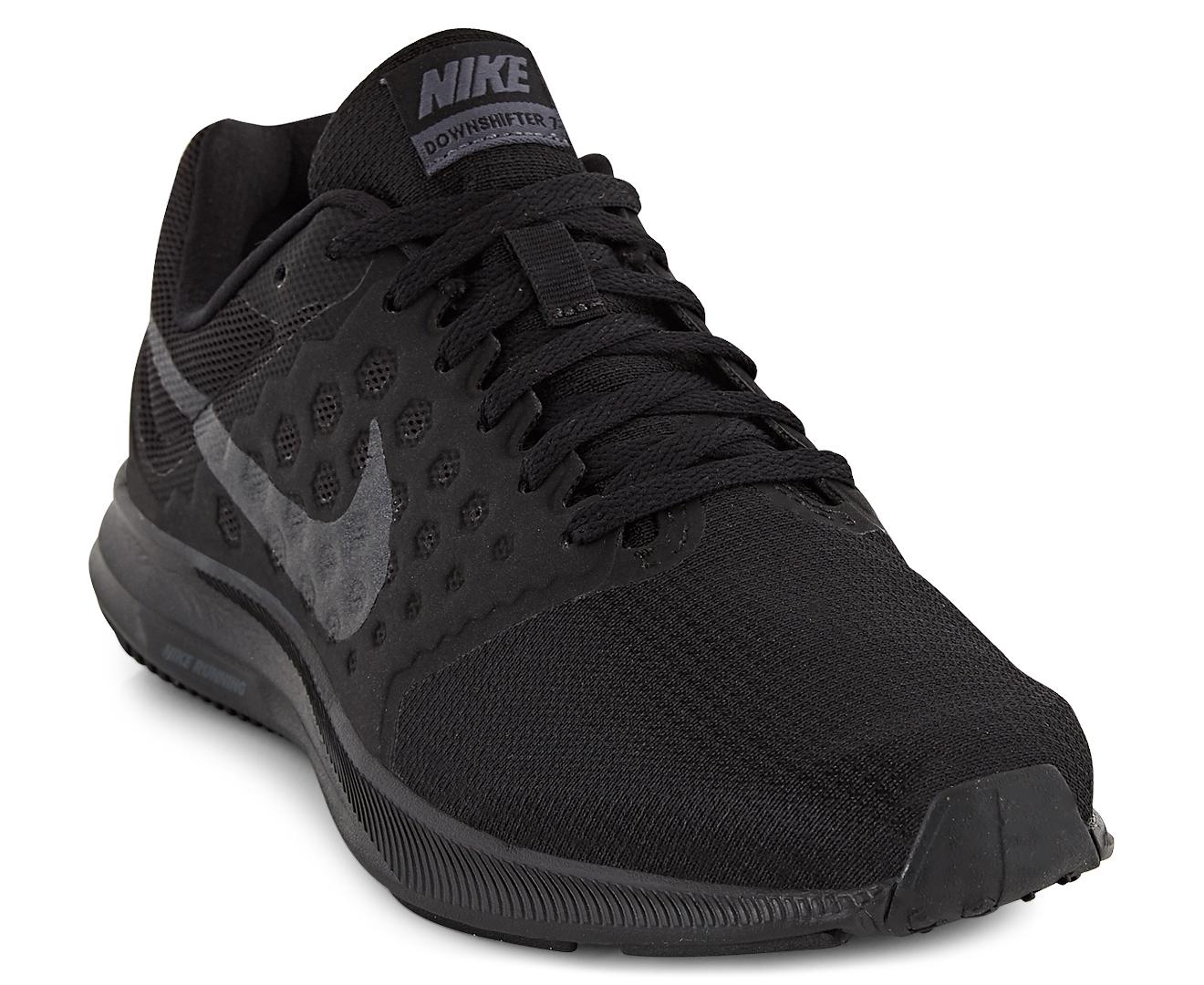 a67c6c42d0b Nike Women s Downshifter 7 Shoe - Black Metallic Hematite-Anthracite ...