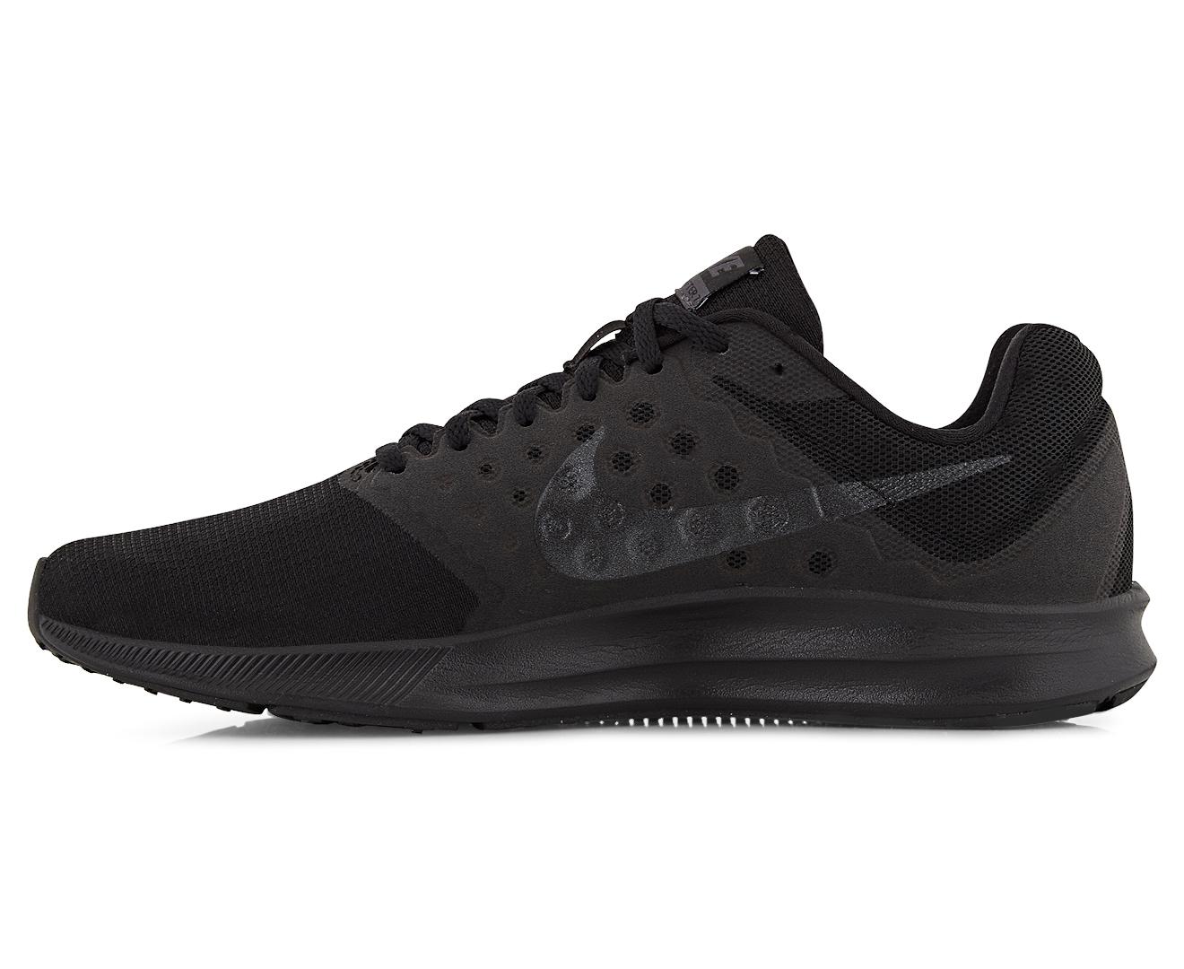 87f85267801 Nike Men s Downshifter 7 Shoe - Black Metallic Hematite-Anthracite ...