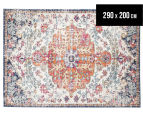 Rug Culture 290x200cm Easy Care Ashanti Rug - Bone White 1
