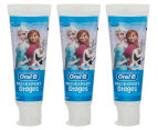 3 x Oral-B Pro-Expert Stages Frozen Toothpaste 75mL 1