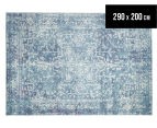 Rug Culture 290x200cm Easy Care Cairo Rug - Blue 1