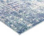Rug Culture 290x200cm Easy Care Cairo Rug - Blue 2