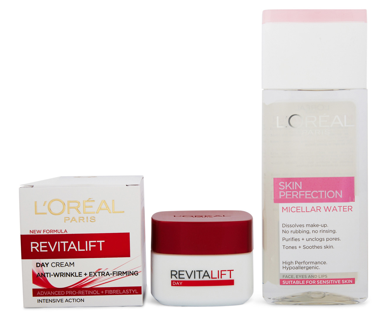 L'Oreal Cleanse + Care Revitalift & Micellar Duo Pack ...