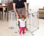 Dreambaby Royale Converta 3-in-1 Play-Pen Gate - White/Grey 2