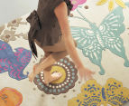 Brink & Campman 240x170cm Butterfly Hand Tufted Rug - Multi 2