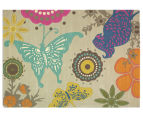 Brink & Campman 300x200cm Butterfly Hand Tufted Rug - Multi 2