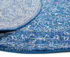 Rug Culture 240x240cm Thebes Rug - Navy 3