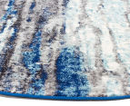 Rug Culture 150x150cm Inca Rug - Blue 2