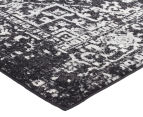 Rug Culture 400x80cm Cairo Runner Rug - Charcoal 2