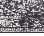 Rug Culture 400x80cm Cairo Runner Rug - Charcoal 3