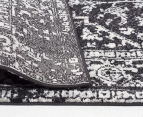 Rug Culture 400x80cm Cairo Runner Rug - Charcoal 4