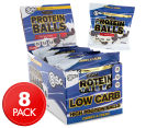 8 x BSc High Protein Balls Cookies & Cream 70g 1