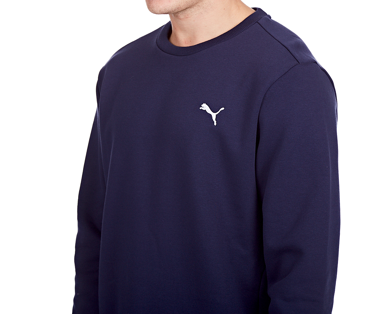 Puma Men's Essential Crew Sweatshirt - Peacoat