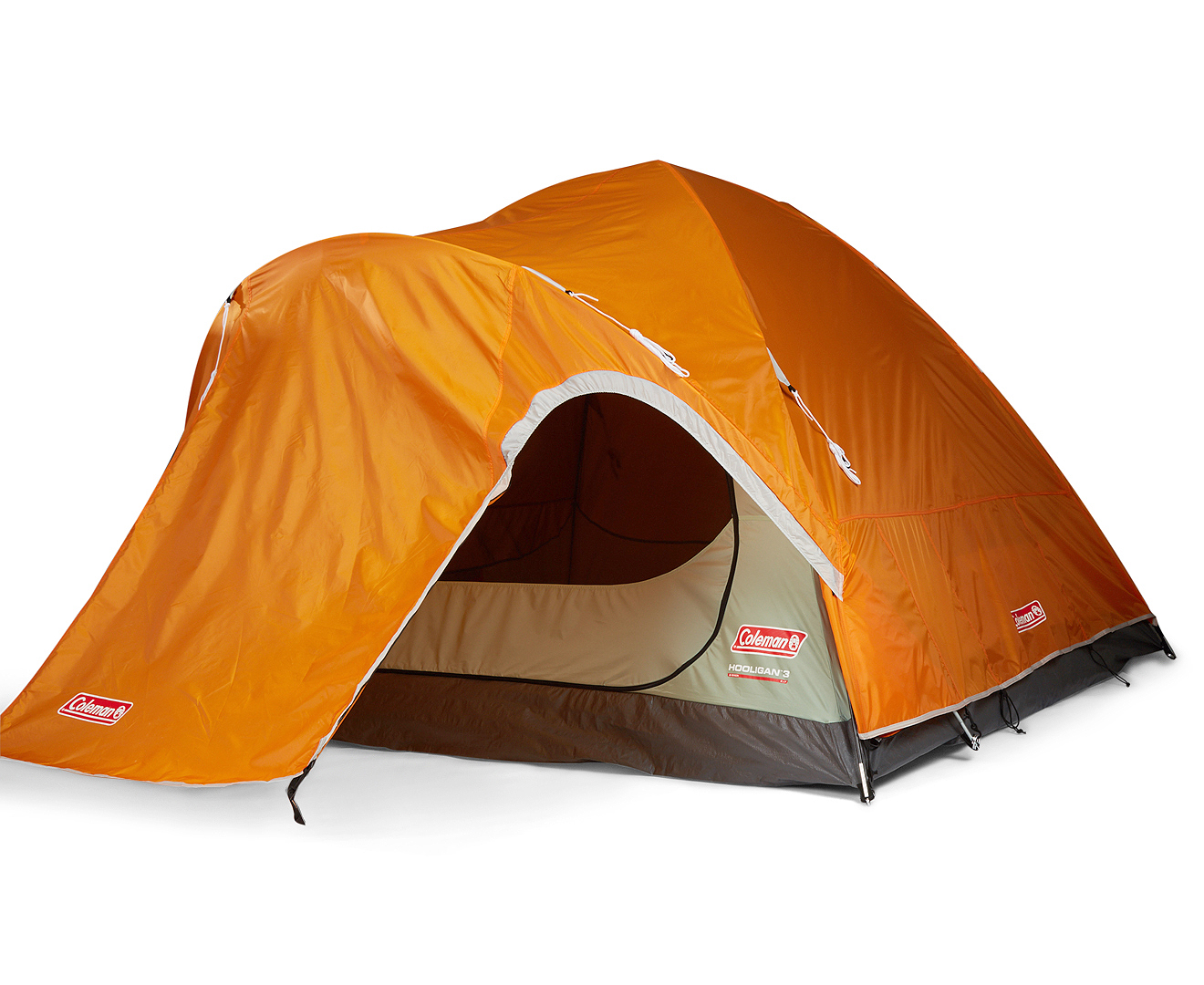 Coleman Hooligan 3-Person Hooligan Tent - Orange/Grey  sc 1 st  eBay & Coleman Hooligan 3-Person Hooligan Tent - Orange/Grey | eBay