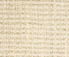 Rug Culture 320x230cm Maple & Elm Natural Fibre Chunky Knit Jute Rug - Bleached 5