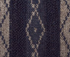 Maple & Elm 320x230cm Wool & Jute Flatweave Rug - Teal 4