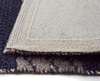 Maple & Elm 320x230cm Wool & Jute Flatweave Rug - Teal 5