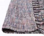 Traveller 225x155cm Modern Wool Blend Rug - Grey 4