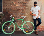 Progear Fixie Single Speed Bike - Lime Green 3