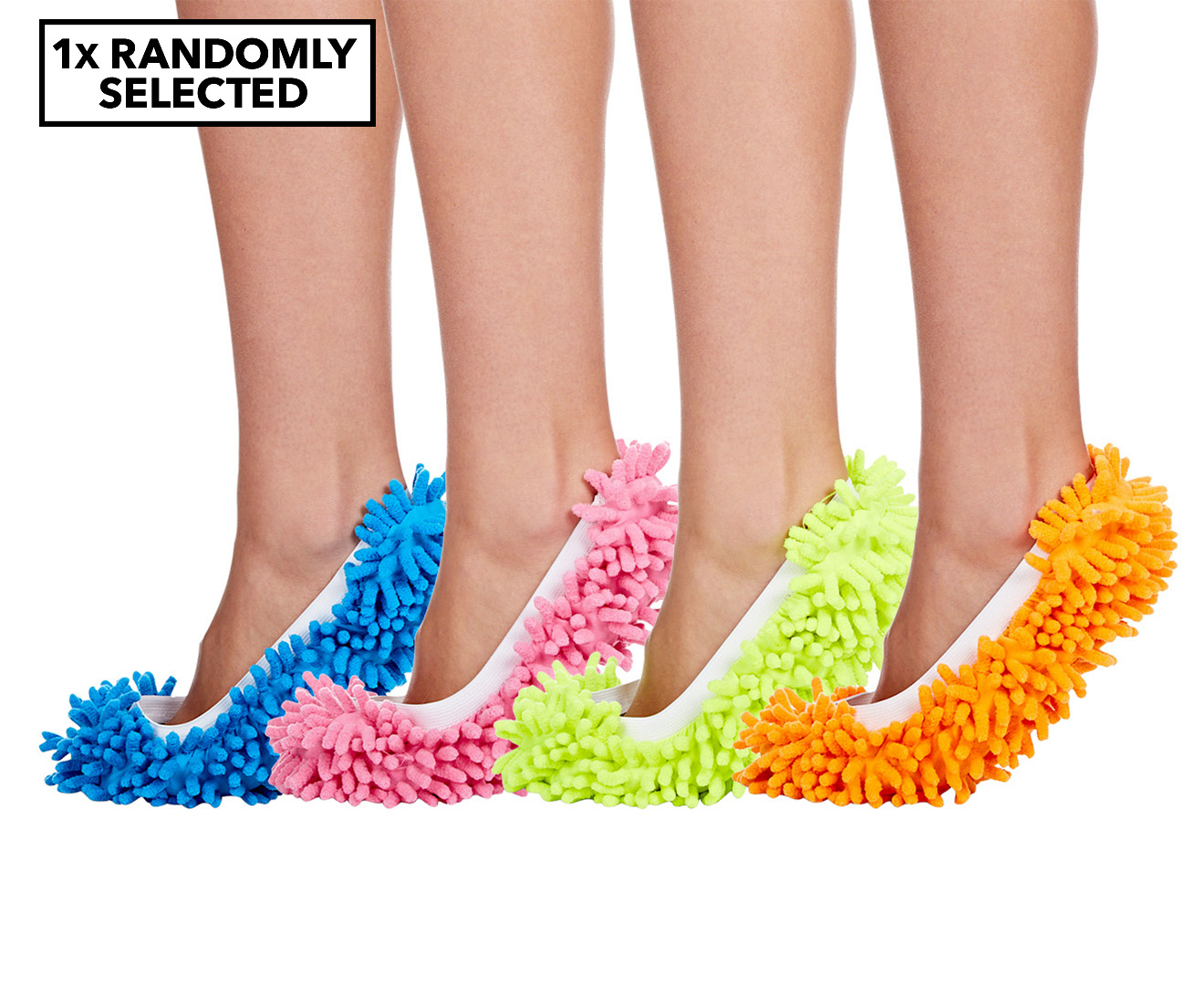 Lazy Housekeeper Mop Slippers Randomly Selected Scoopon Shopping