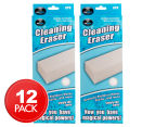 2 x Cleaning Eraser 6pk 1