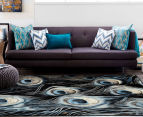 Rug Culture 330x240cm Flight Rug - Black/Aqua 2