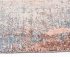 Emerald City 220x150cm Aglow Digital Print Soft Acrylic Rug - Orange/Multi 3