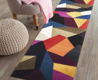 Harlequin 400x80cm Hand Tufted Wool Runner - Multi 2