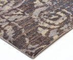 Emerald City 280x190cm Himalaya Digital Print Soft Acrylic Rug - Grey 2