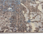 Emerald City 280x190cm Himalaya Digital Print Soft Acrylic Rug - Grey 3