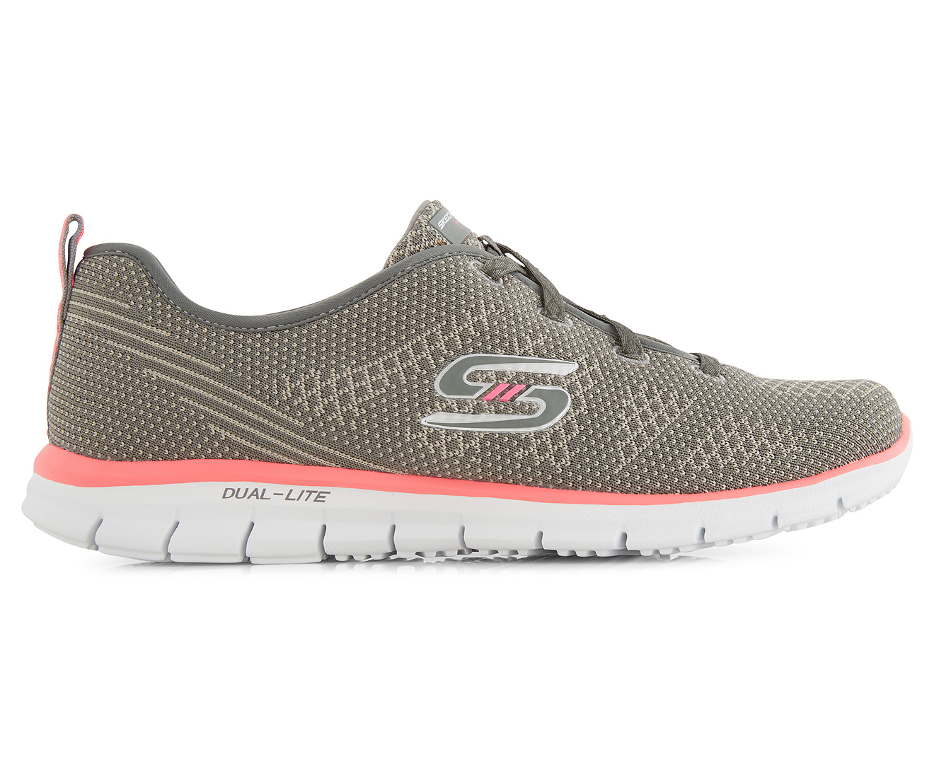 skechers women 39 s glider forever young shoe grey coral great daily deals at australia 39 s. Black Bedroom Furniture Sets. Home Design Ideas