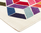 Antares 330x240cm Optical Gem Bright Bohemian Rug - Multi 3