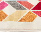 Antares 330x240cm Optical Gem Bright Bohemian Rug - Multi 4