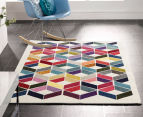 Antares 230x160cm Optical Gem Bright Bohemian Rug - Multi 2