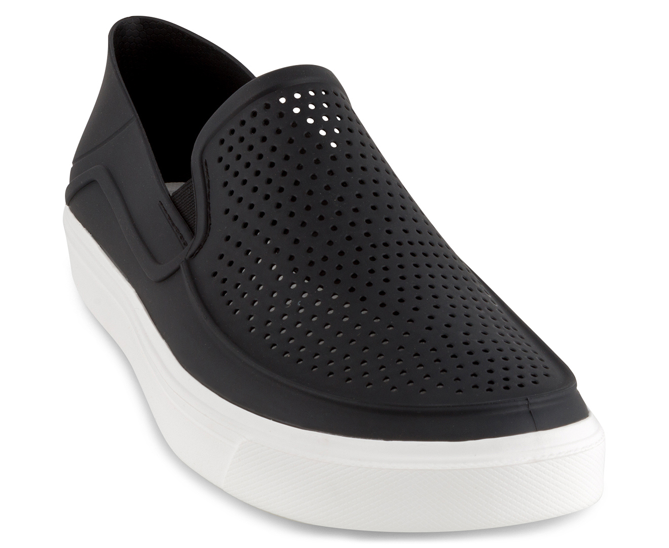 Black Casual Slip On Shoes For Kids