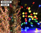 Solar Powered LED Party Lights 200-Pack - Multi 1